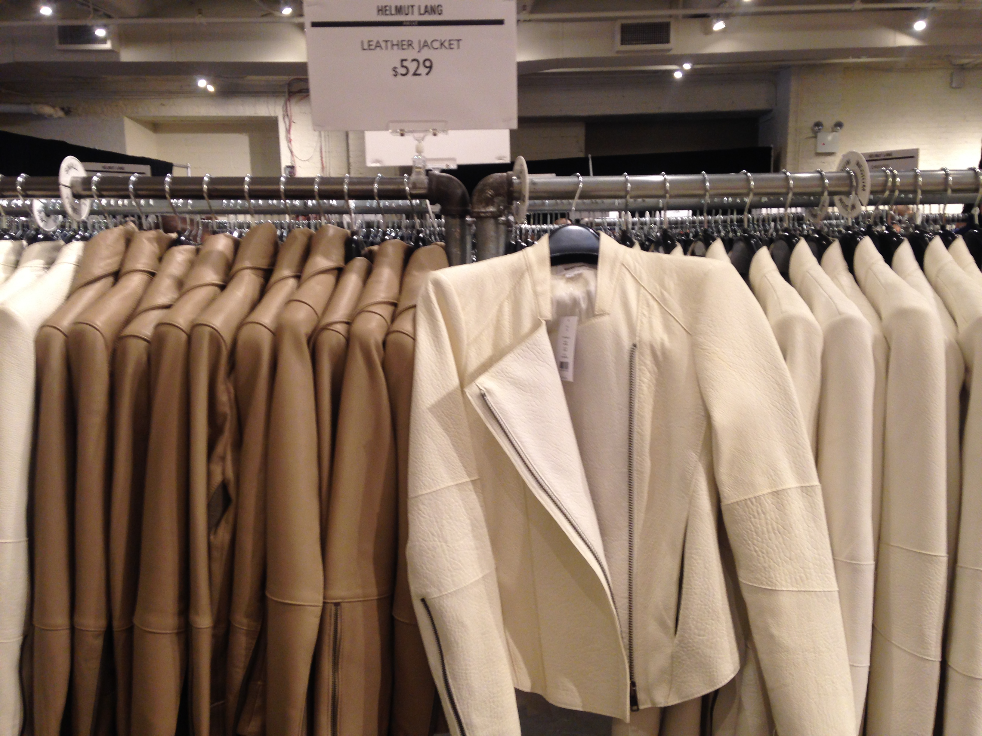 The Helmut Lang Sample Sale Will Get You Excited for Fall (Yes, Really)