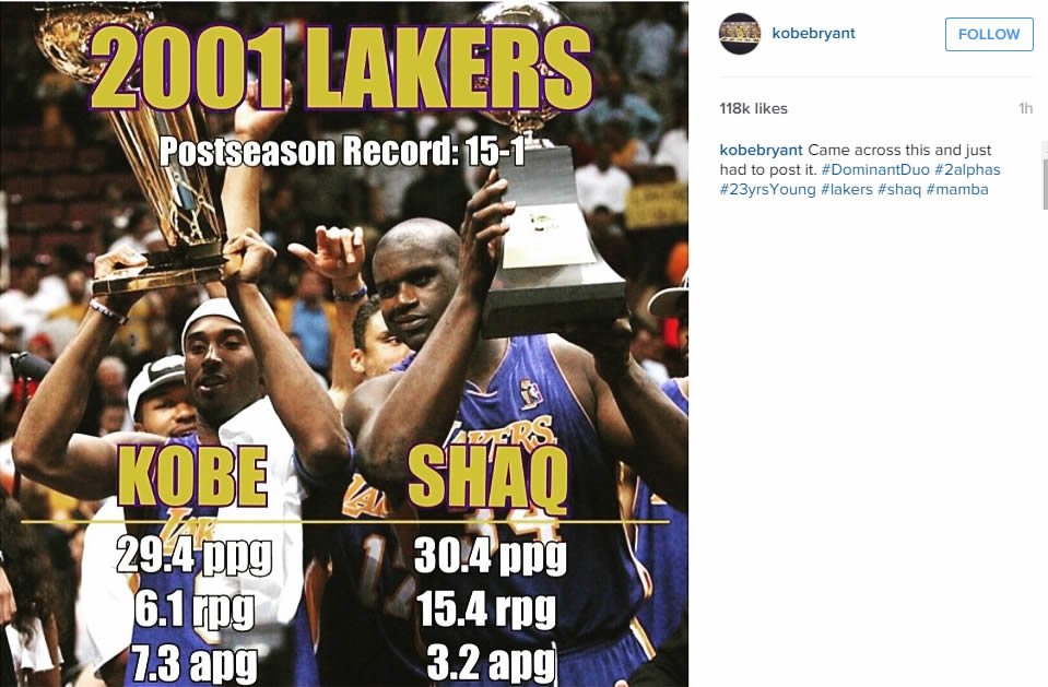 Kobe Bryant is buzzing about the NBA Finals, Warriors ...