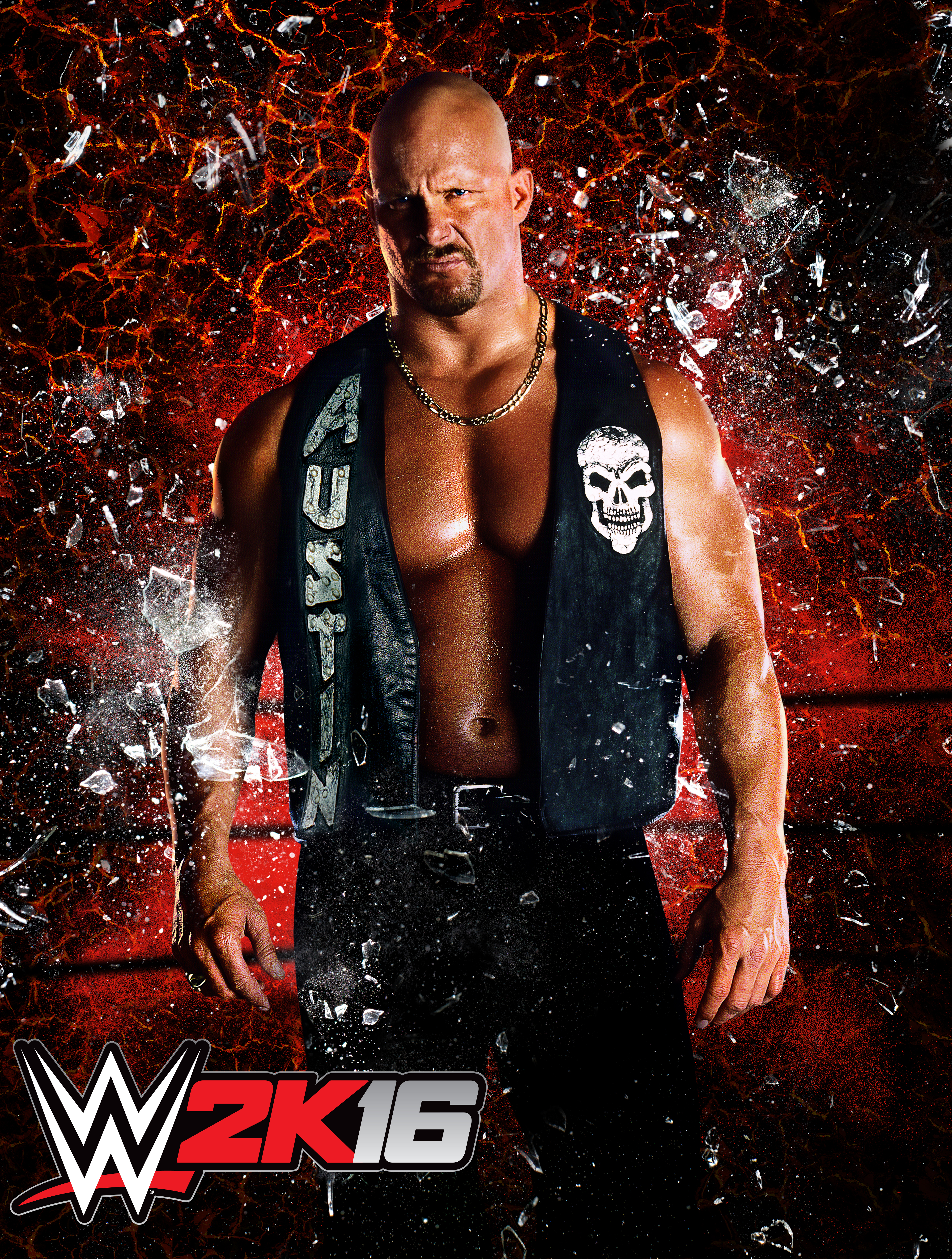 Stone Cold Steve Austin to grace the cover of WWE 2K16, maybe WrestleMania afterward