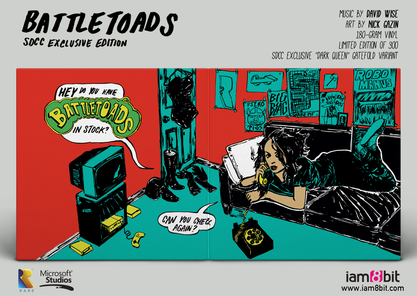 Battletoads Vinyl Record Soundtrack Is Stunning And Not