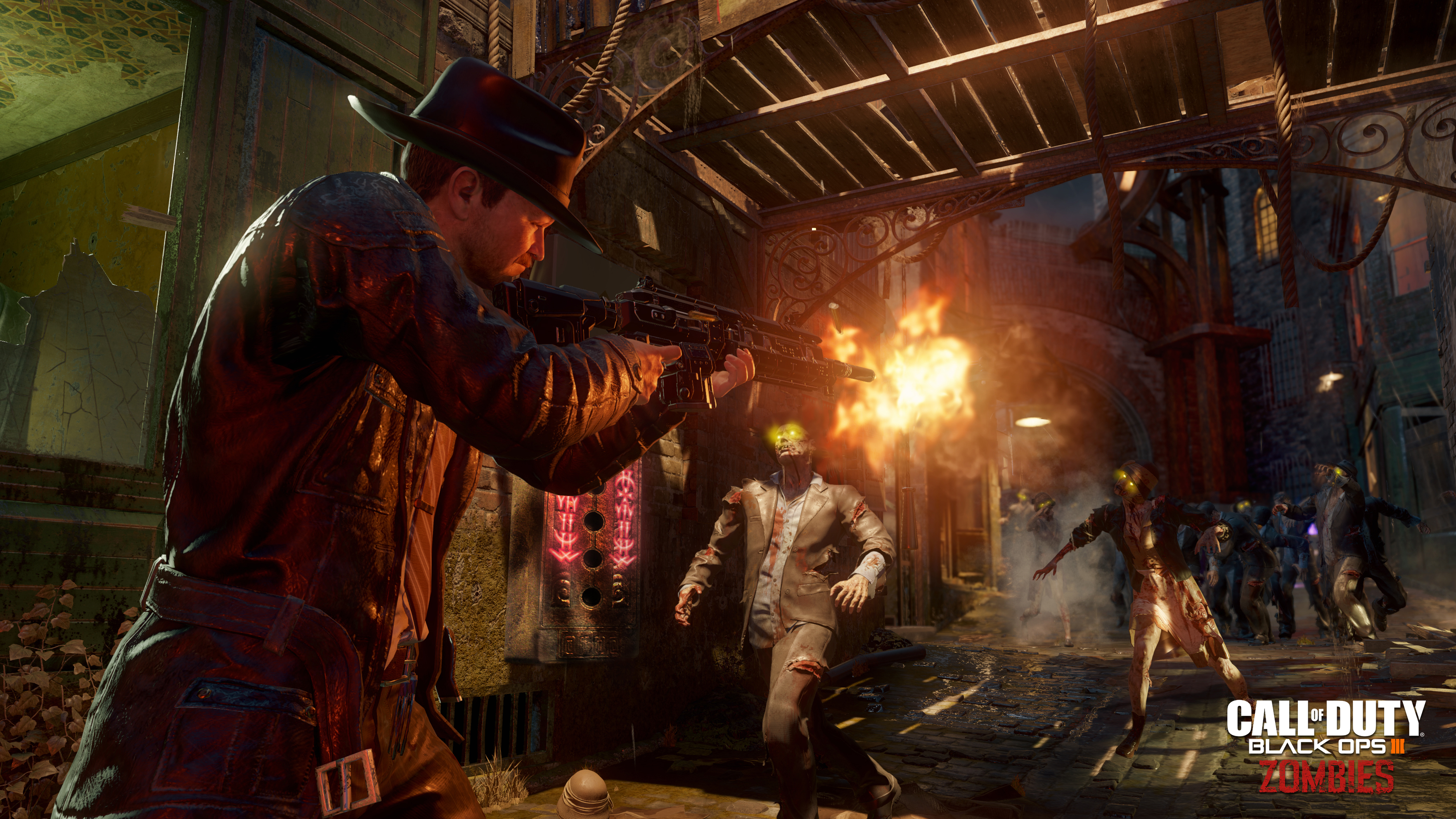 Call Of Duty Black Ops Iii Will Have A Zombie Mode Called