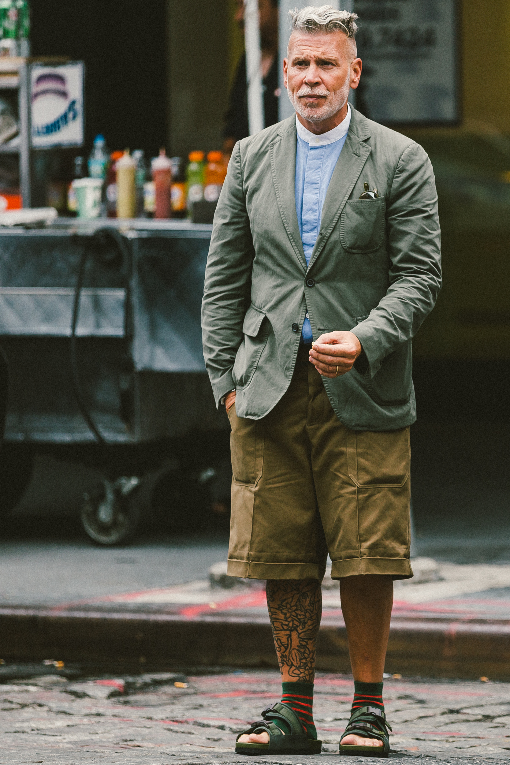 55 Street Style Snaps From New York Fashion Week: Men's