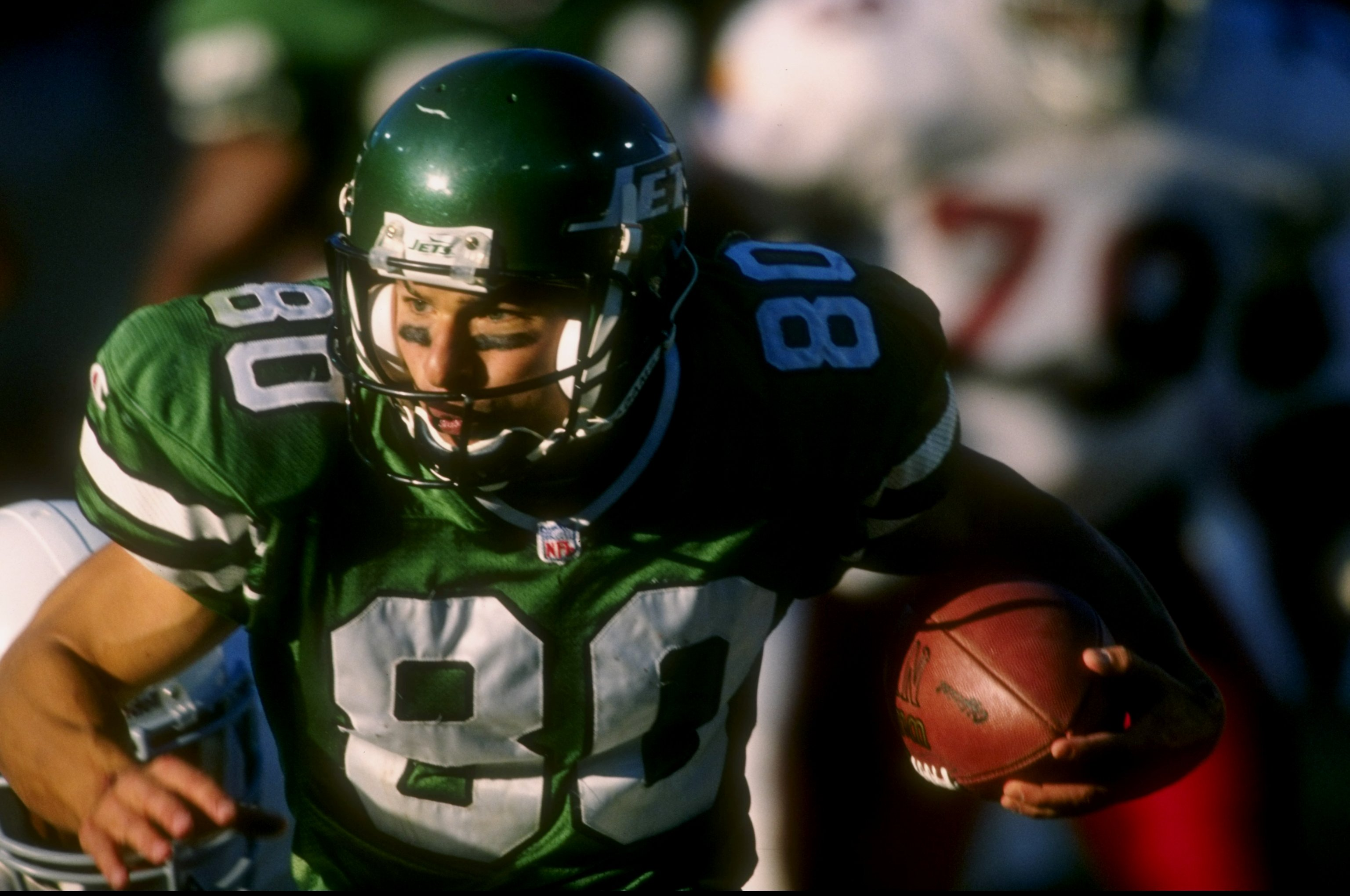 d9240e87e Flashback Friday  The  80s and  90s New York Jets Uniforms - Gang ...