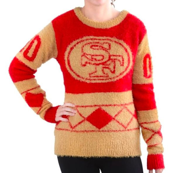 Get your 49ers, Colin Kaepernick ugly Christmas sweaters - Niners ...