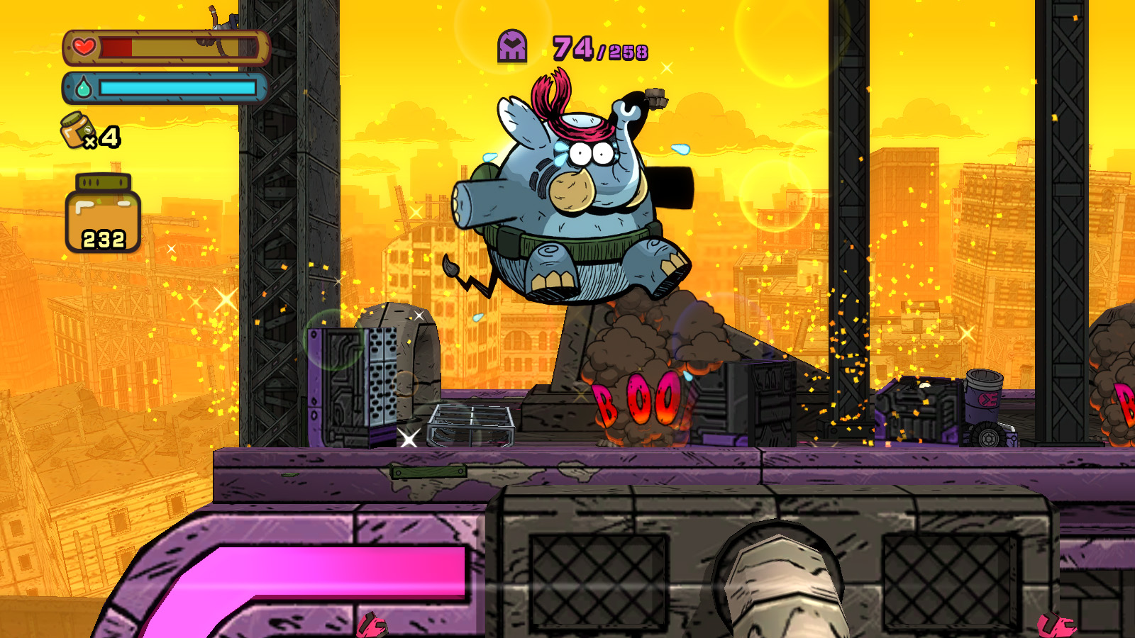 Tembo the Badass Elephant review: gotta go fast