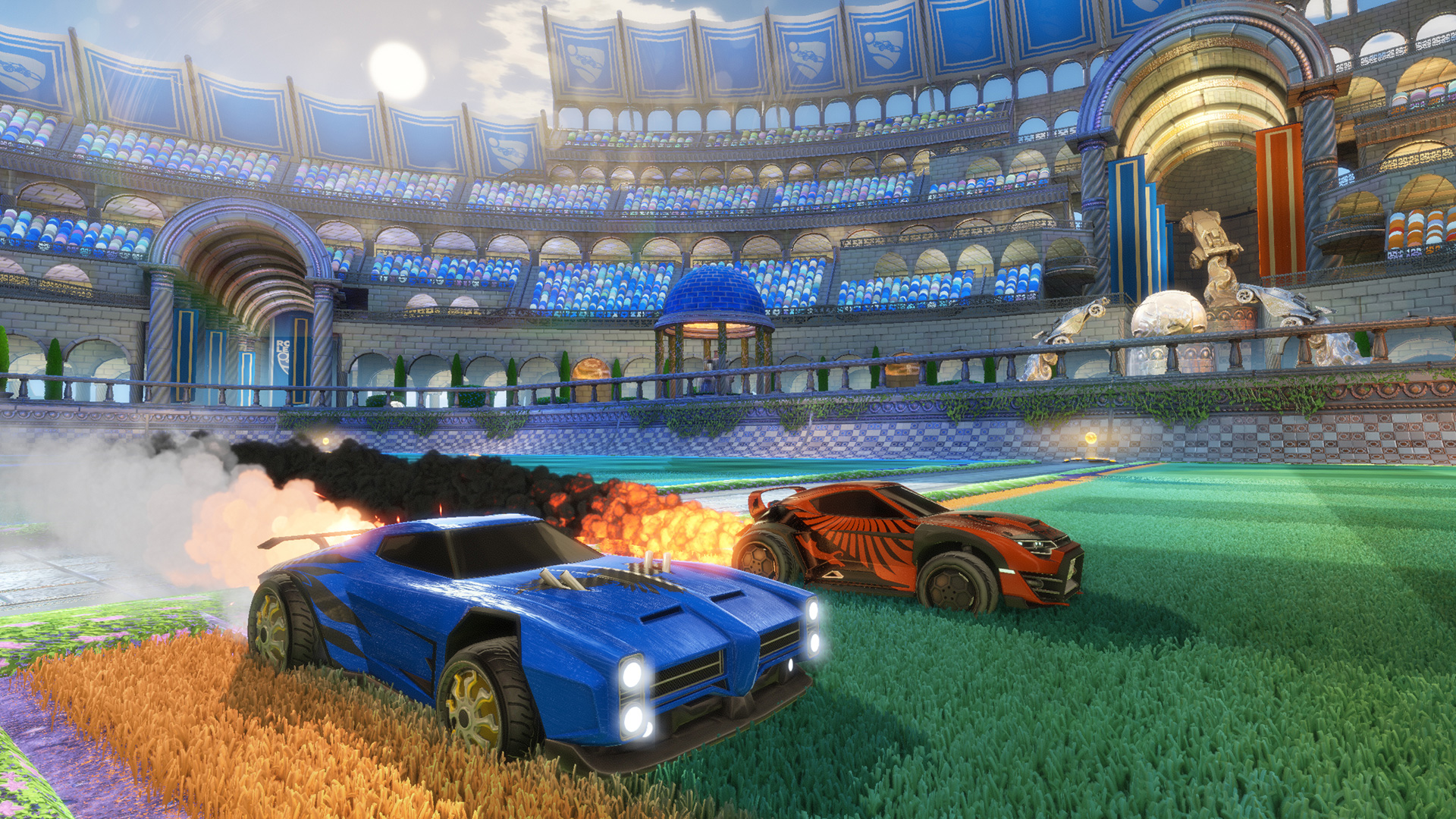 Rocket League gets spectator mode and map, plus first paid DLC, in 'early August' (update)