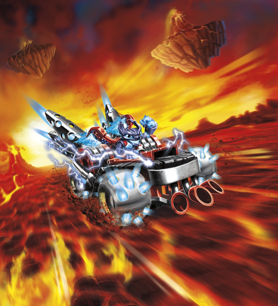 Skylanders SuperChargers goes online, comes with its own