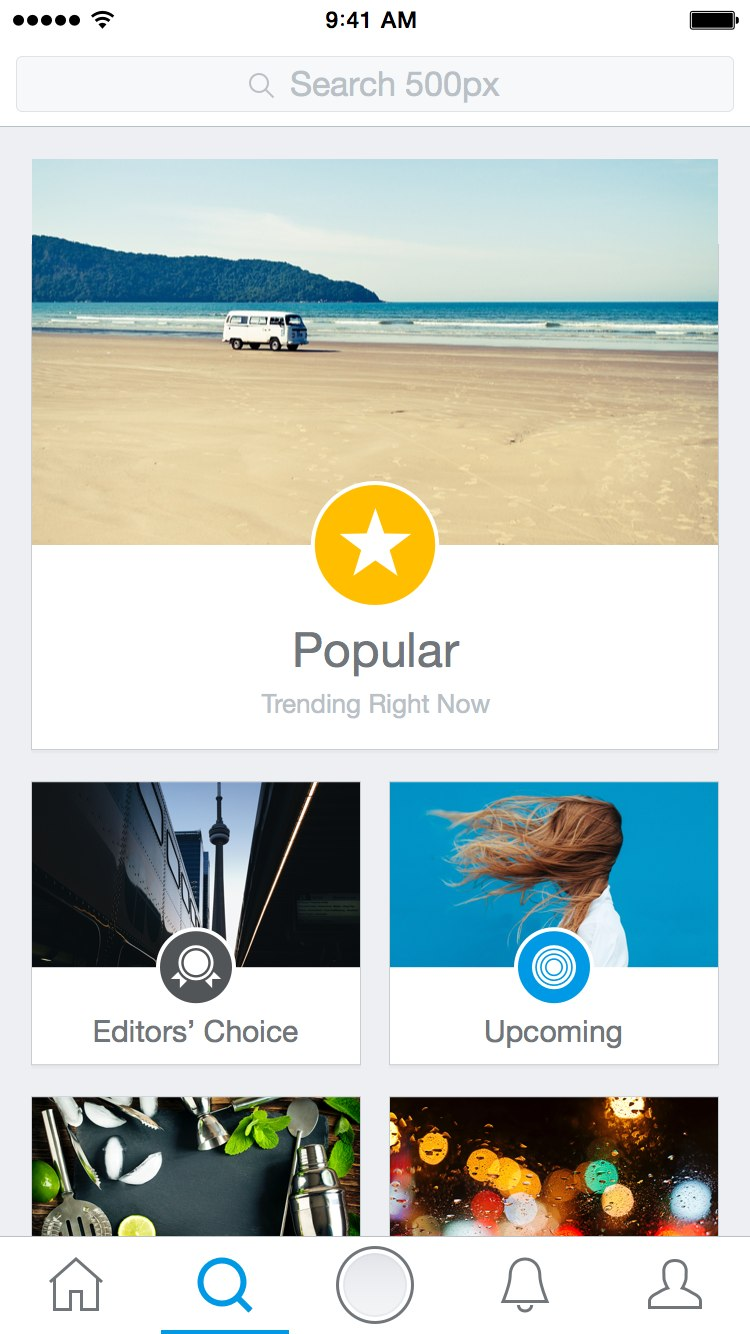 The new 500px app is a high-resolution Instagram - The Verge