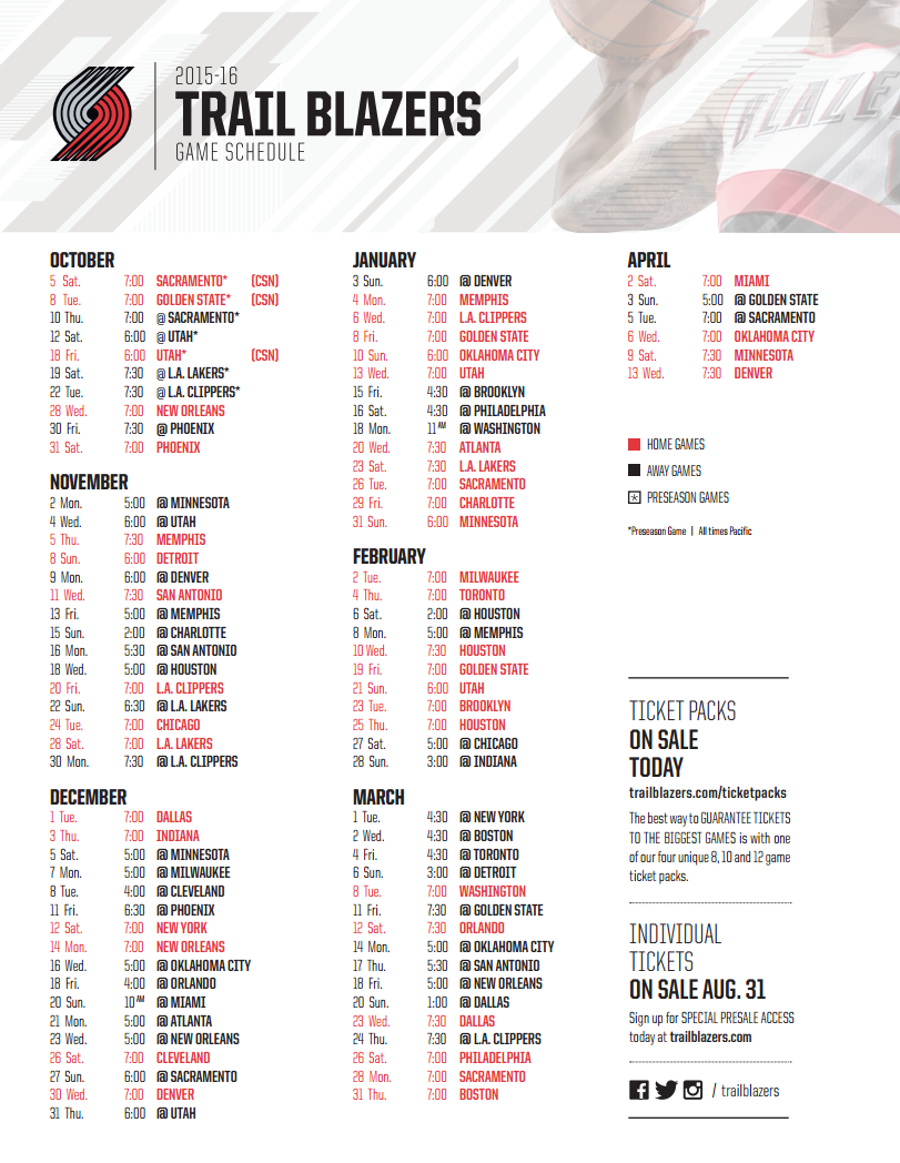 Nba schedule release date in Perth