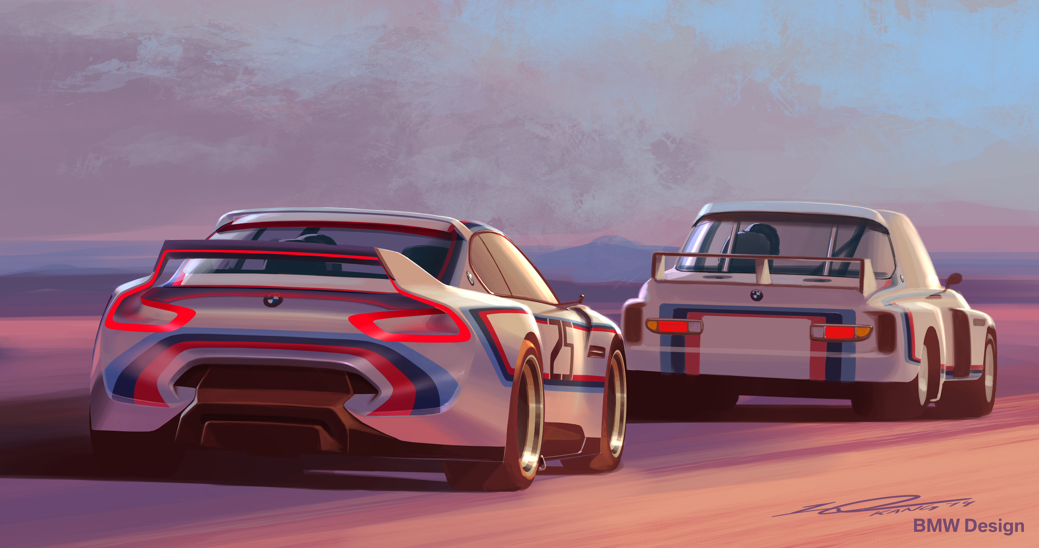 Bmw 3.0 Csl >> Bmw Fixed The 3 0 Csl Hommage Concept Car And Now It Looks Amazing