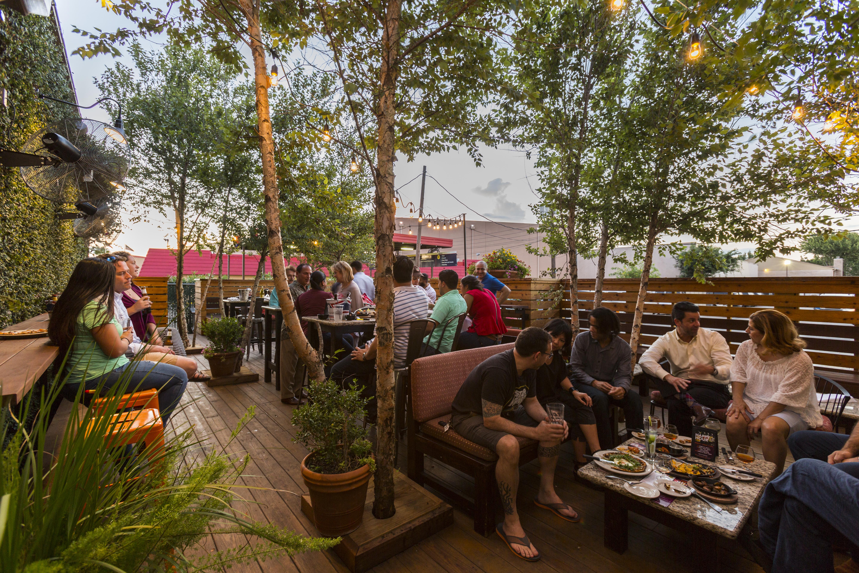 REVAMPS: Nextdoor Bar\'s New Menu and Outdoor Lounge - Eater Houston