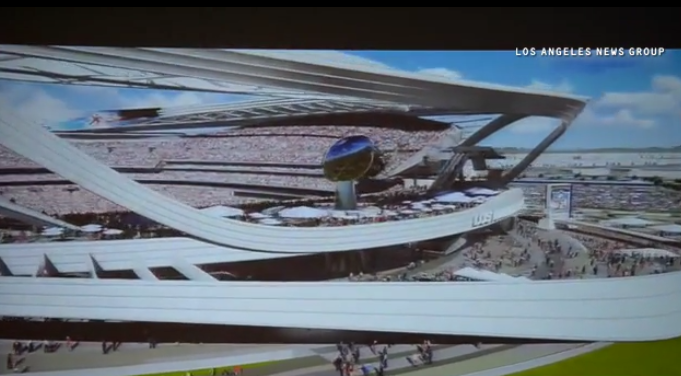 Los Angeles' new NFL stadium features a farmer's market and an absurd valet system