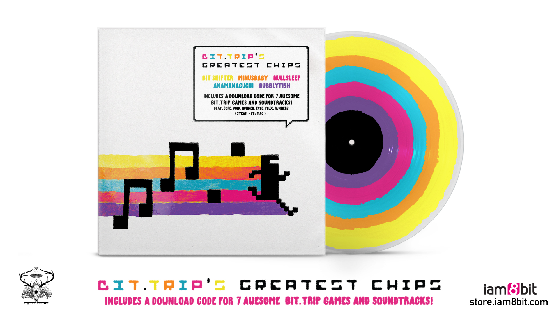 Bit Trip Tunes Coming To Colorful Limited Edition Vinyl