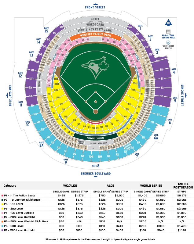 2015 blue jays postseason tickets will cost you a wee bit of money
