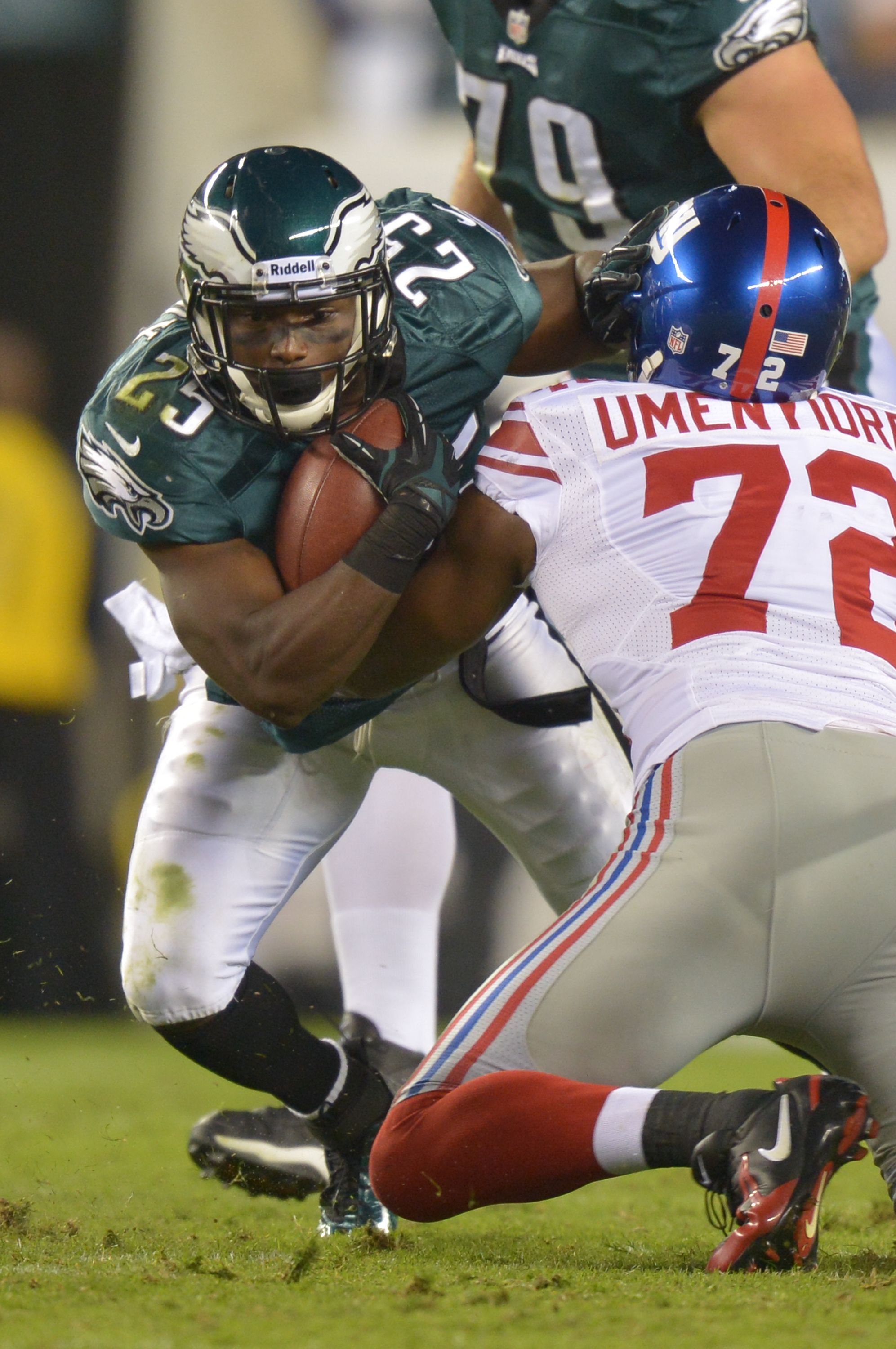 e15c9caac Osi had on-field and verbal battles with LeSean McCoy Drew Hallowell --  Getty Images