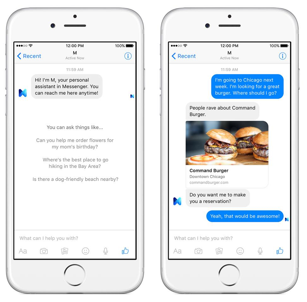 Facebook is killing M, its personal chatbot assistant