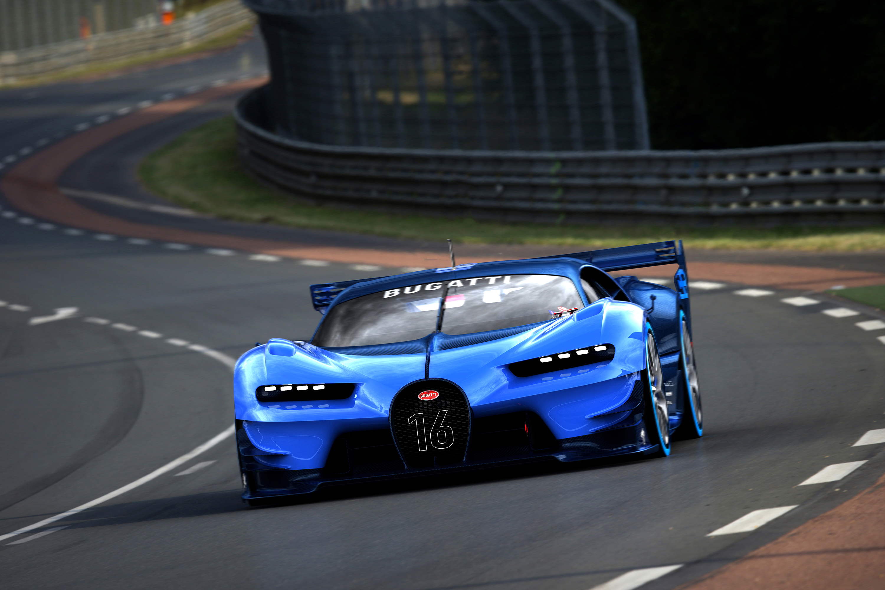 this is the real, live version of bugatti's vision gran turismo