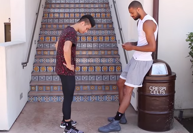 Jeremy Lin gets insulted by NBA stars, does Nae Nae with Riley Curry