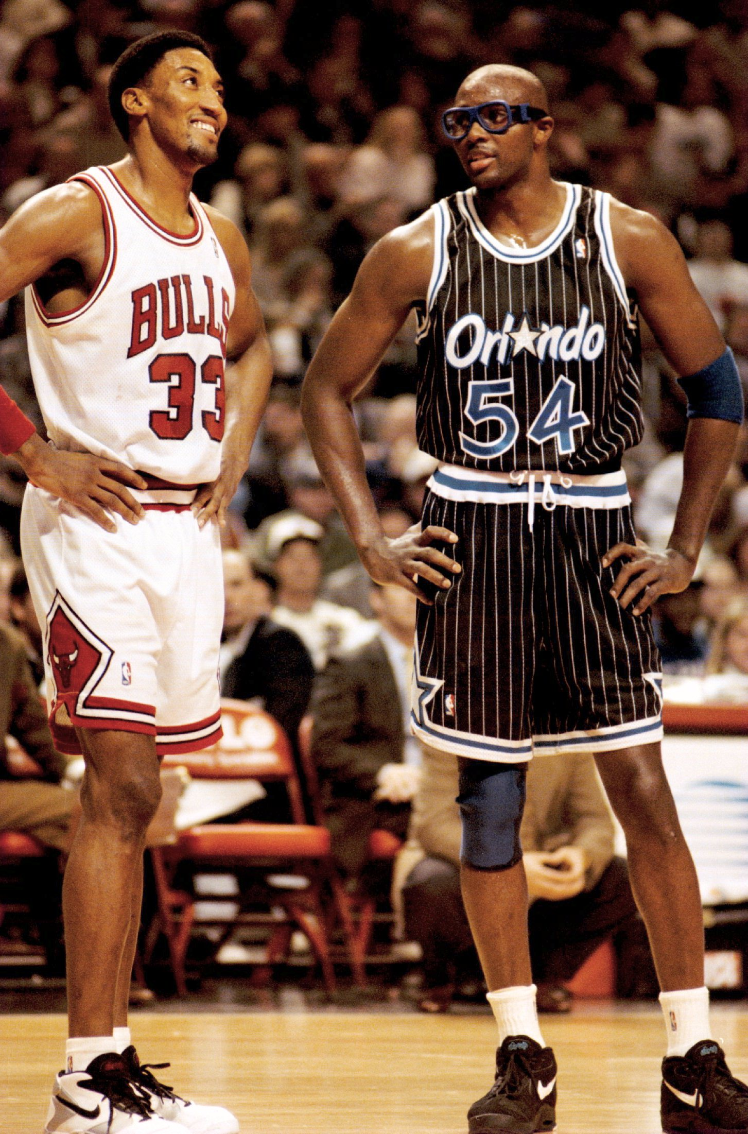 Throwback Thursday Scottie Pippen and Horace Grant meet as