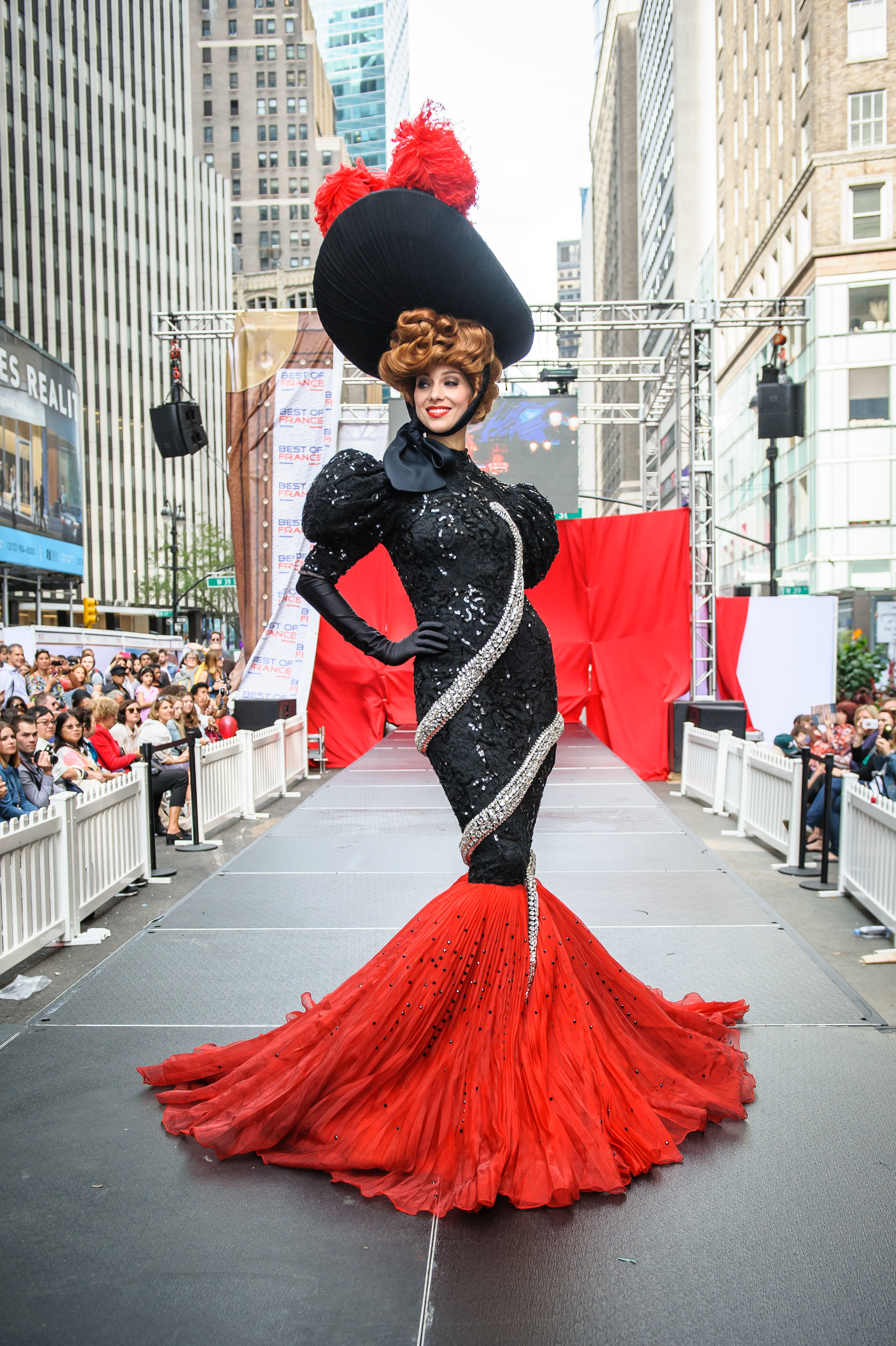See Stunning Moulin Rouge Costumes Hit The Runway In Times