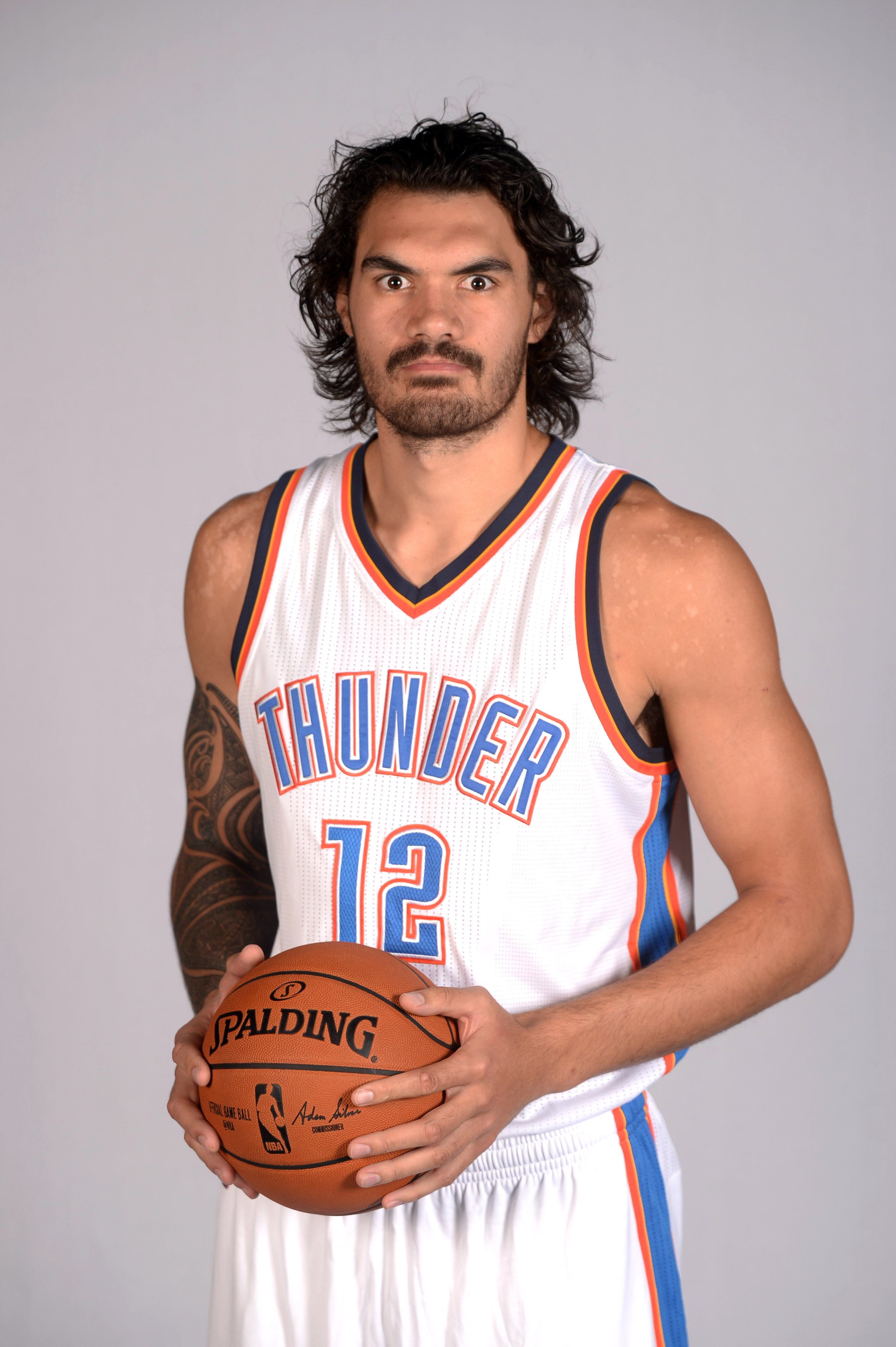 Oklahoma City Thunder Media Day: Steven Adams is a Stage-3 werewolf - Welcome to Loud City