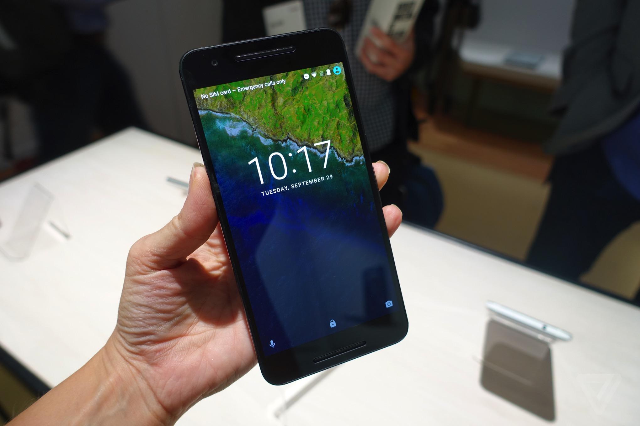 Hands-on with Google's new Nexus 6P smartphone - The Verge