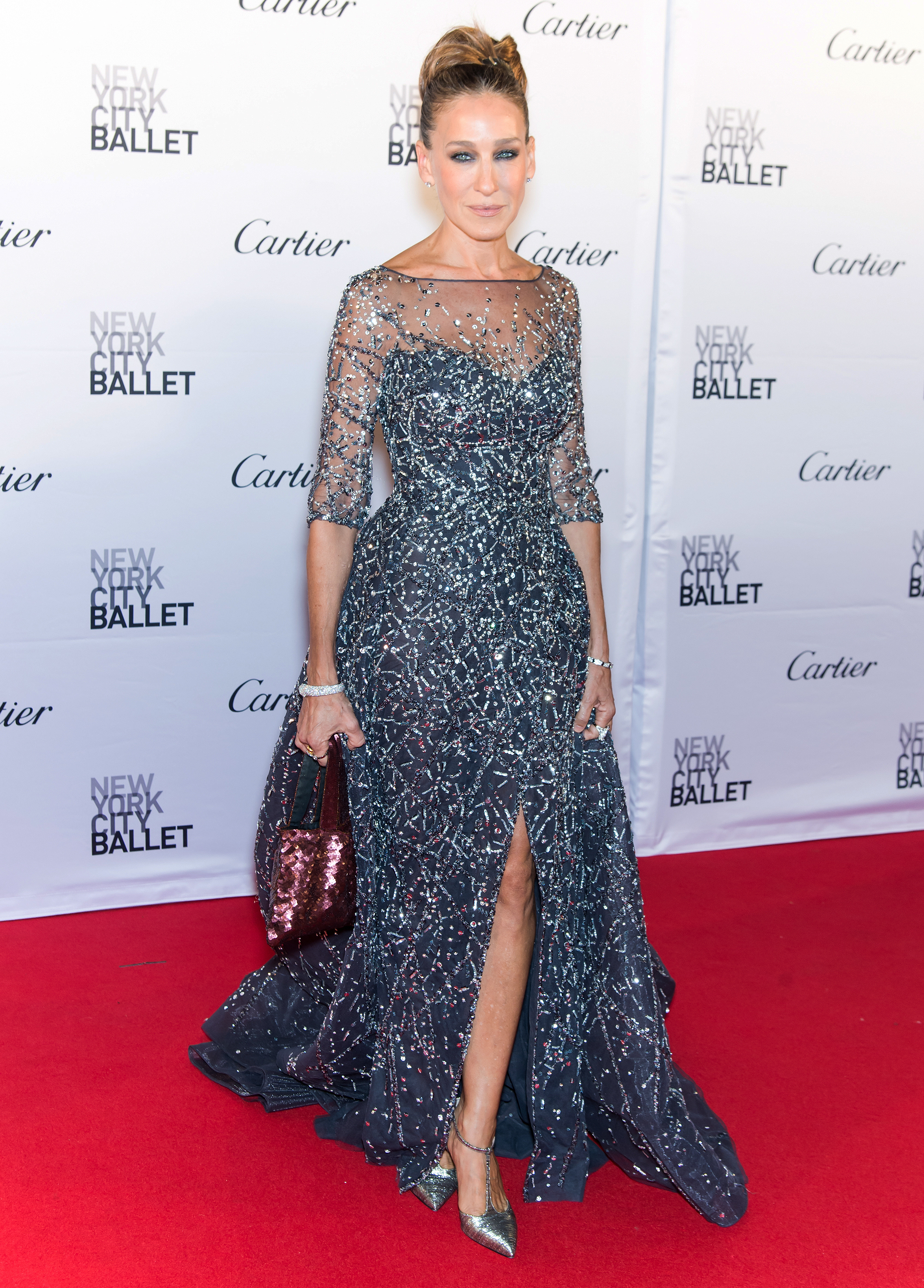 1b190433213 Sarah Jessica Parker Wore a Very Sparkly Dress to the Ballet Last ...