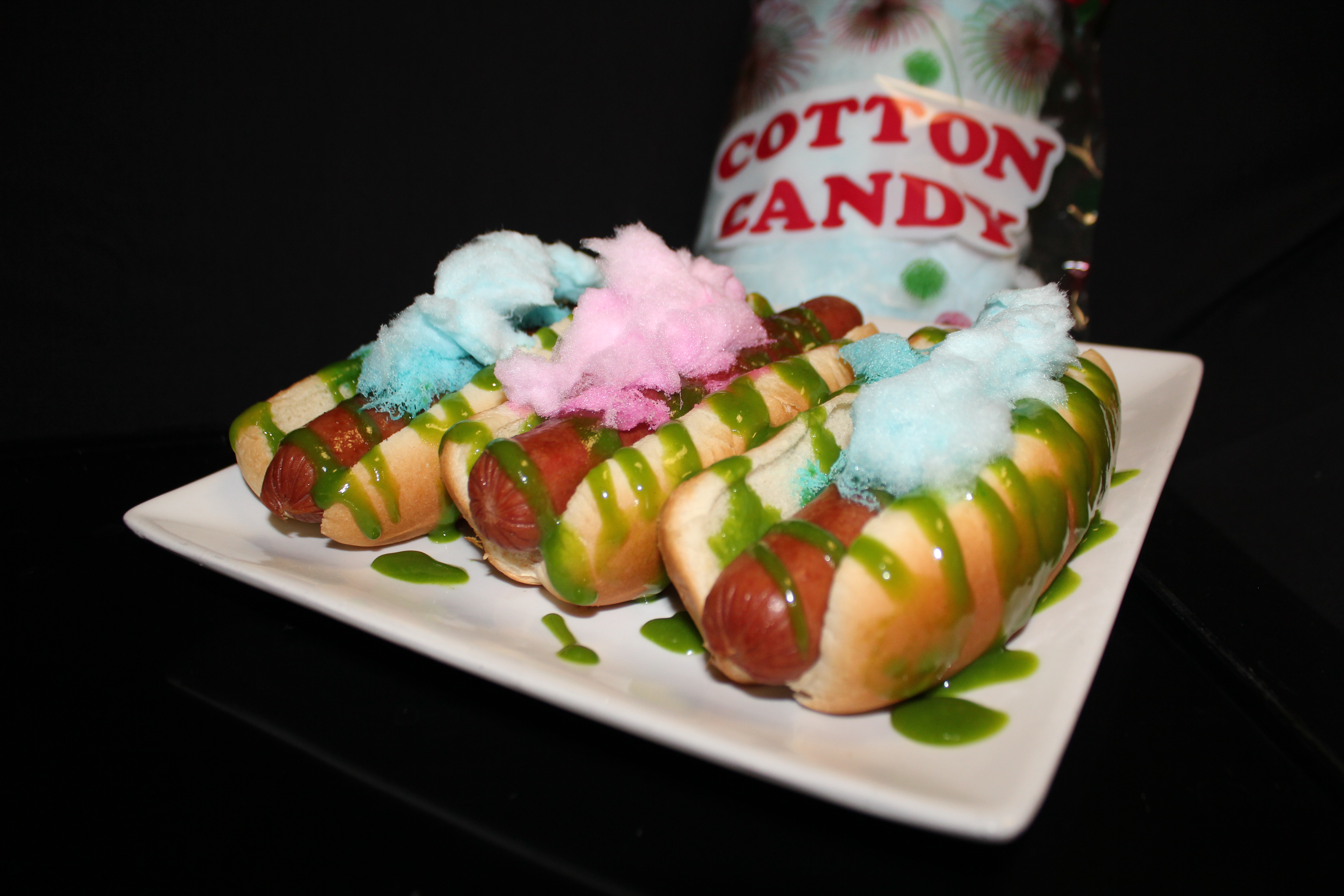 Candy Coated Hot Dogs
