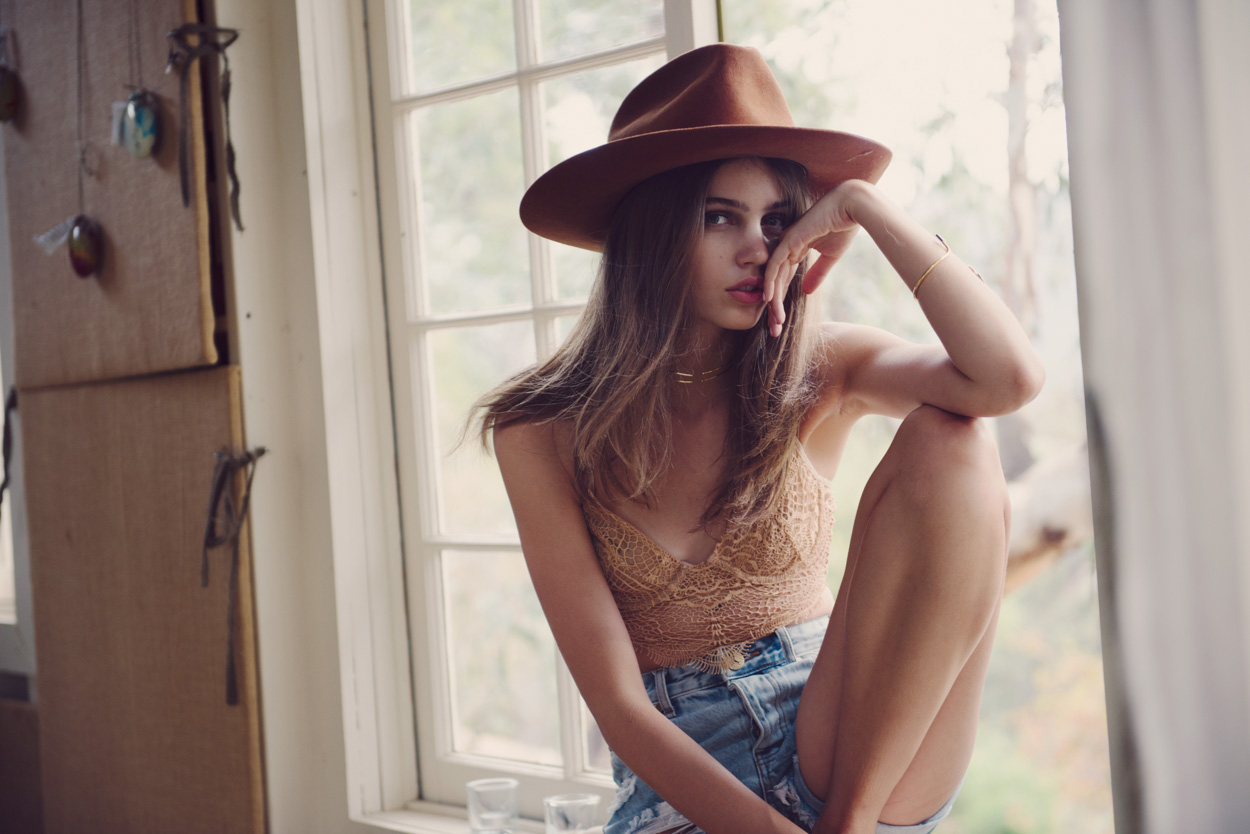 Planet Blue Taps Wildfox Founder Kimberley Gordon For Its Latest Lookbook