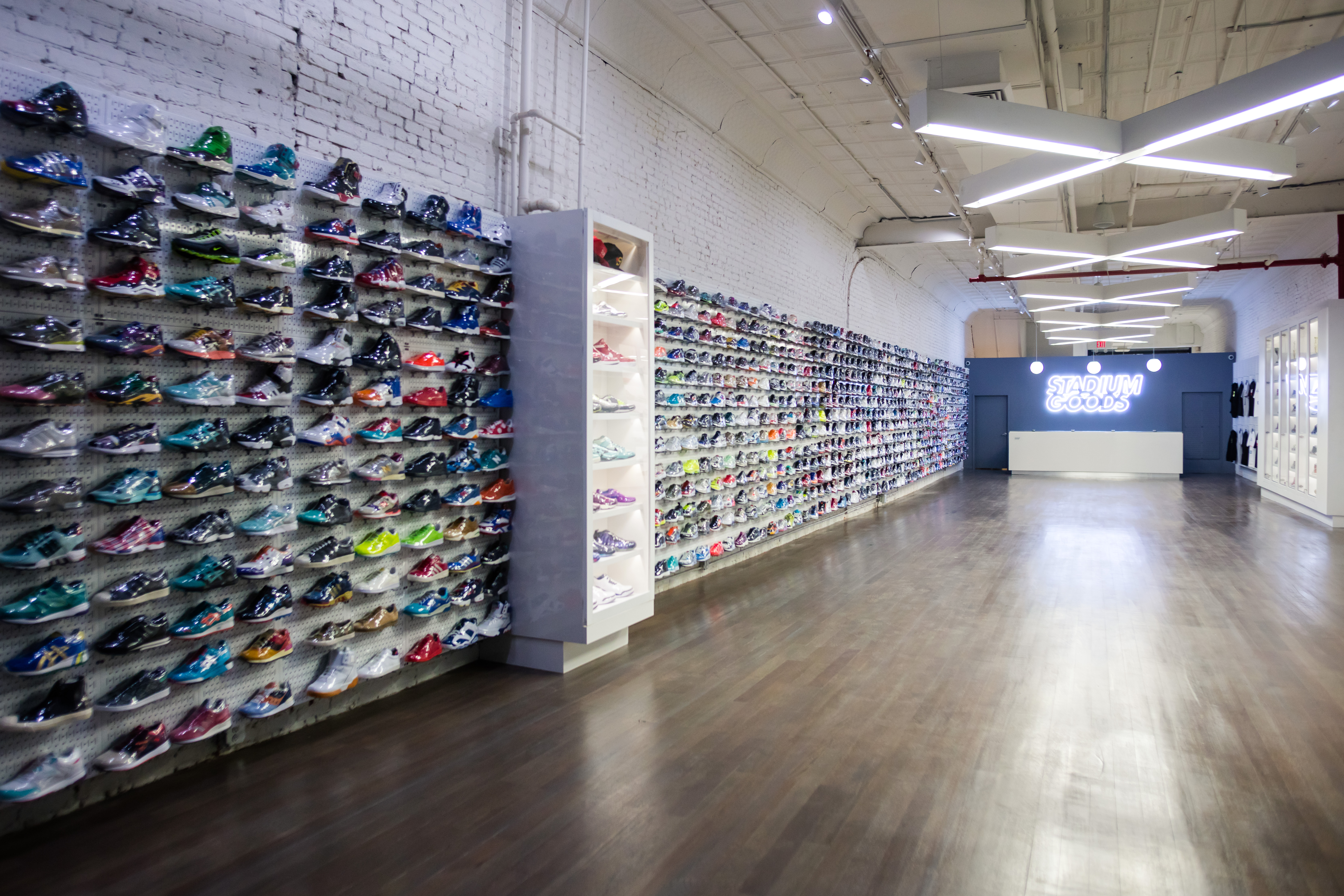 10 of the best nyc sneaker shops for women racked ny. Black Bedroom Furniture Sets. Home Design Ideas