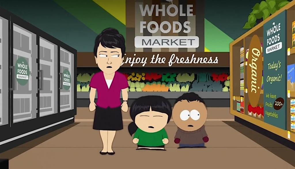 Whole Foods Episode South Park