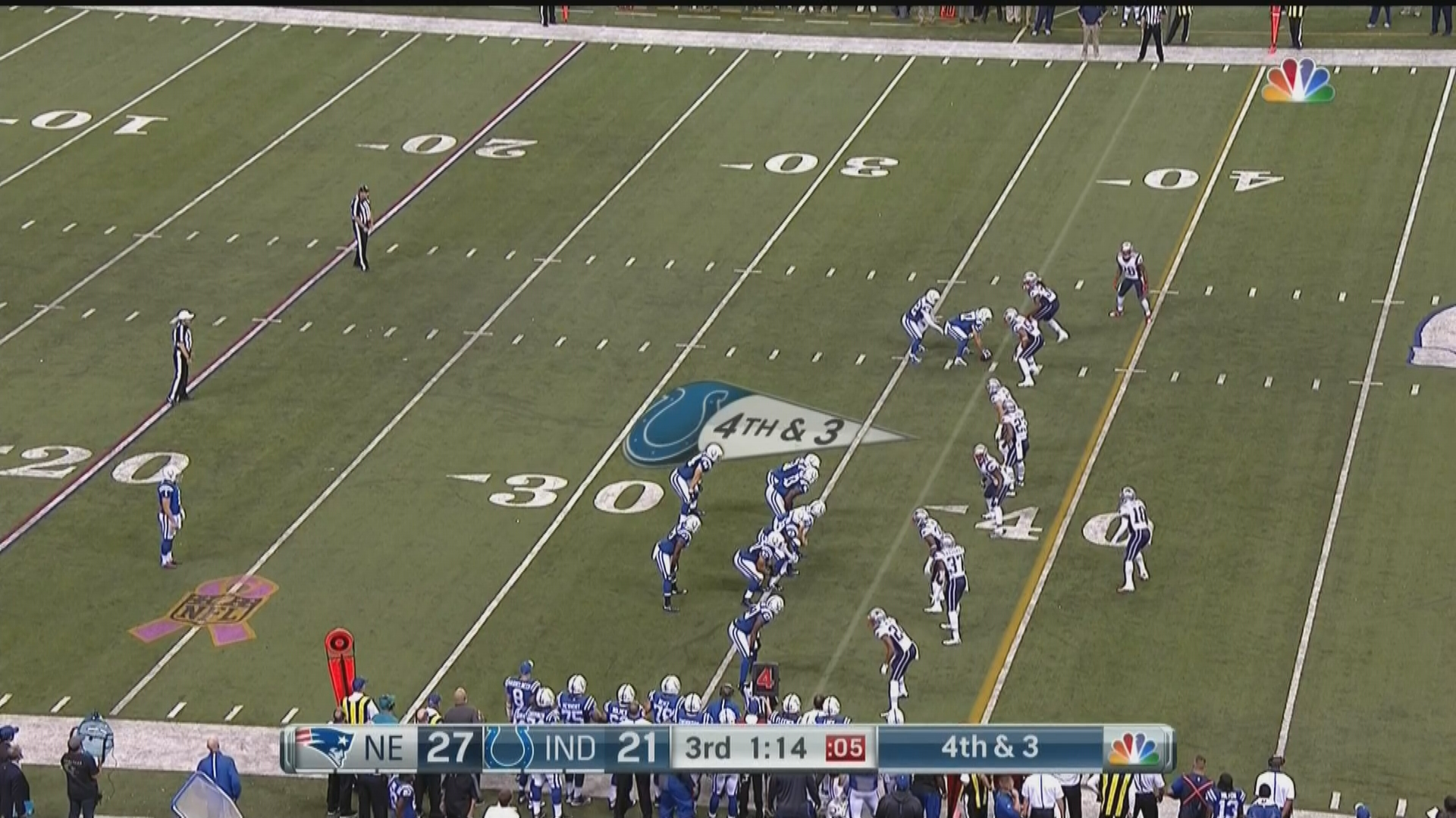 The Colts ran what may be the worst trick play in NFL history