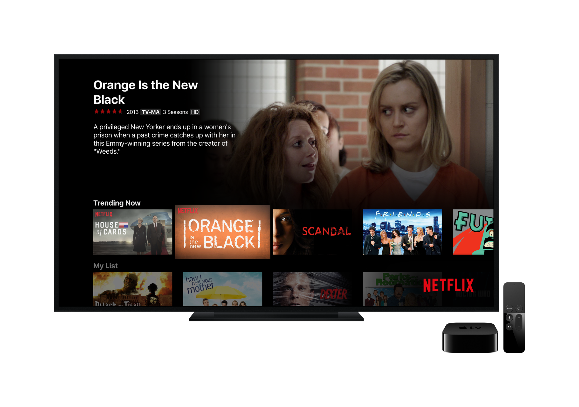 how to turn off subtitles on apple tv remote