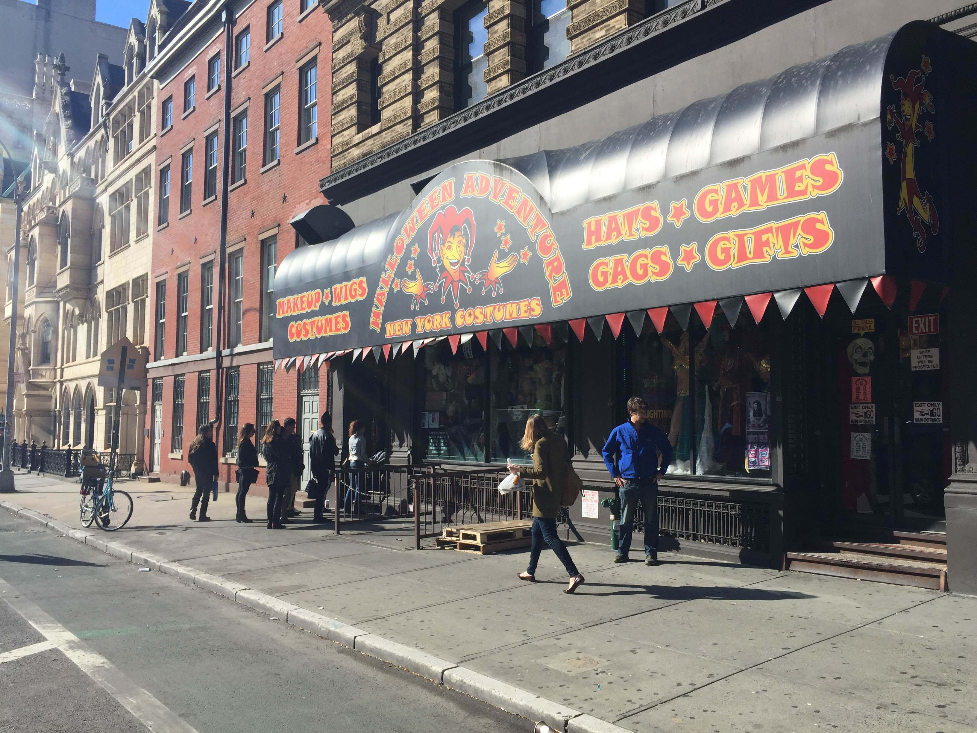 first up is halloween adventure at 104 4th avenue the megastore that goes beyond your pizza rat costume dreams for the unaware it has an entrance on both - Halloween Adventure Store