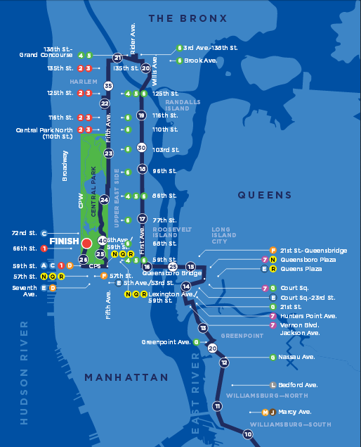 NYC Marathon 2015 Time TV Schedule Map Route And Street Closures - SBNation.com