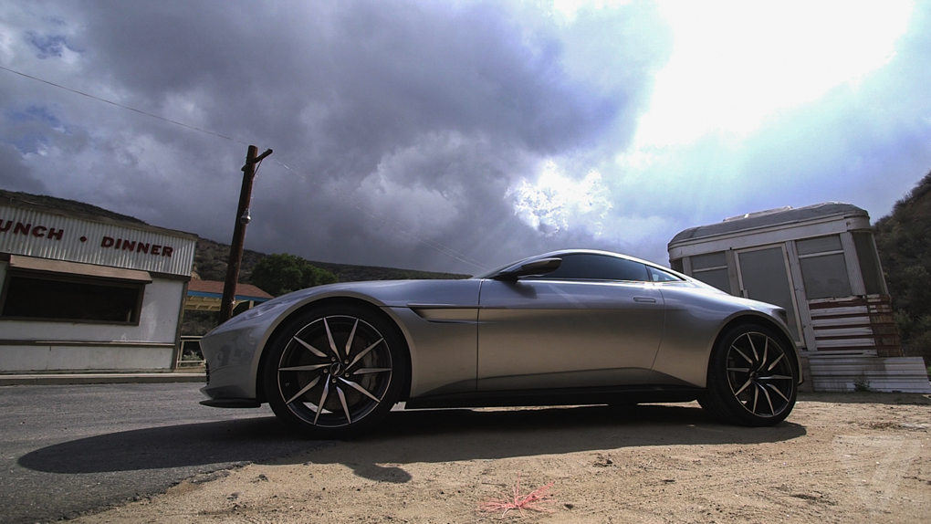 I Drove One Of Only Ten Aston Martin DBs Made For Spectre The Verge - Db10 aston martin