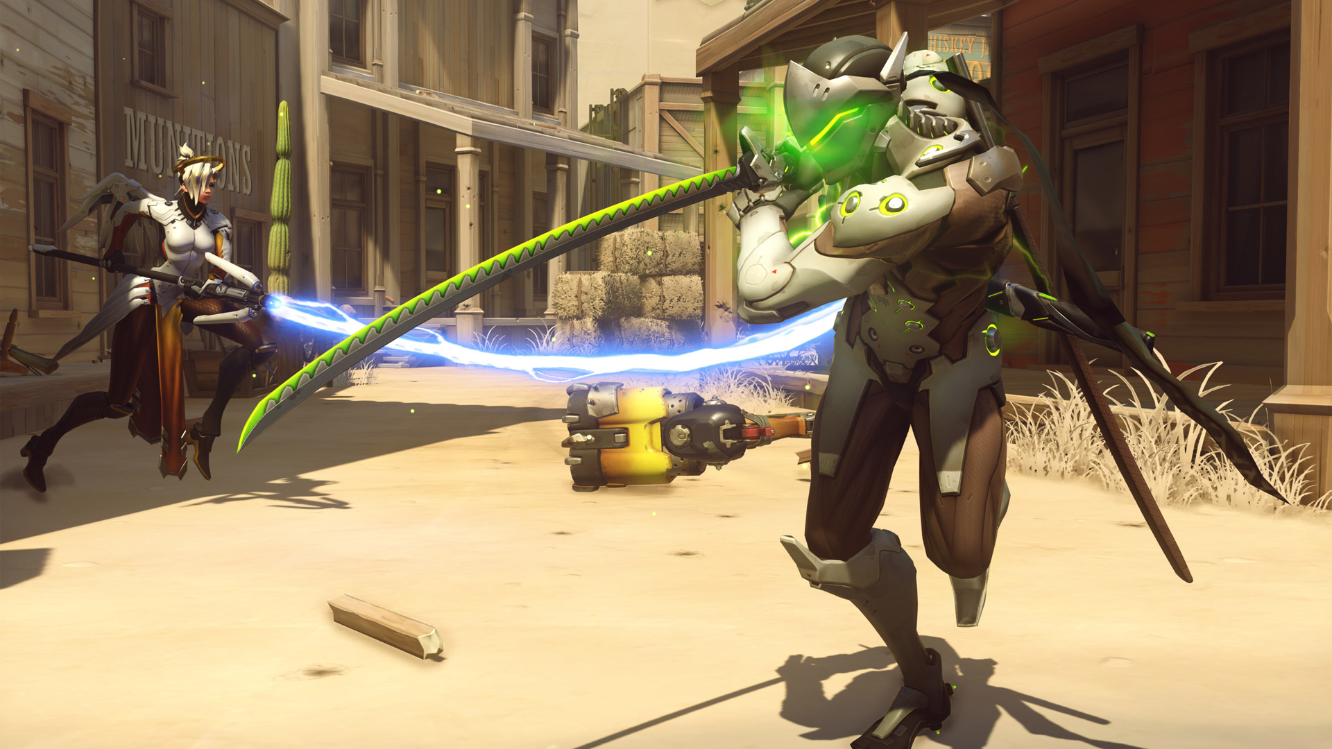 Why isn't Overwatch free-to-play, and what are Blizzard's plans for DLC?