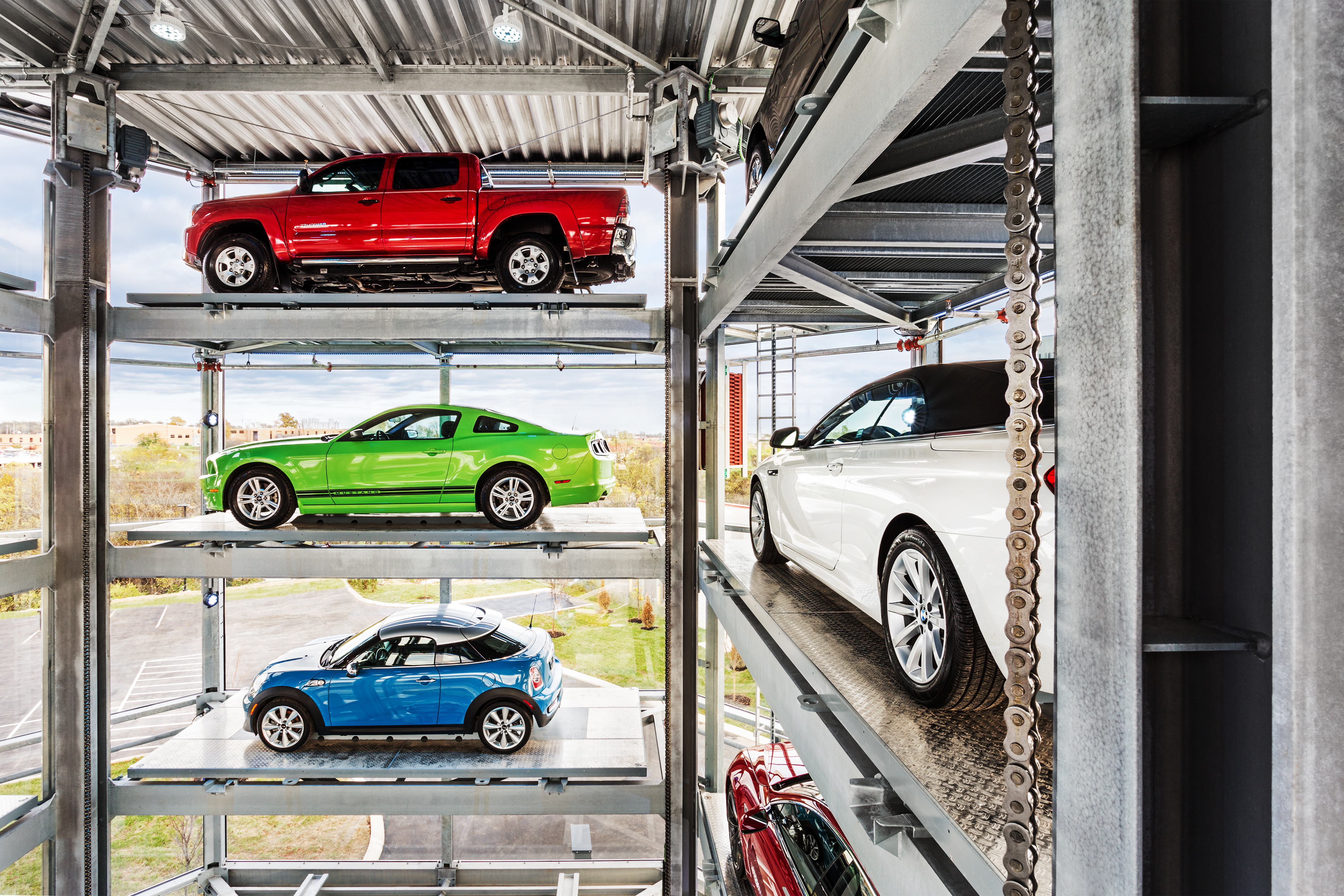 A Five Story Vending Machine For Cars Just Opened In Nashville The
