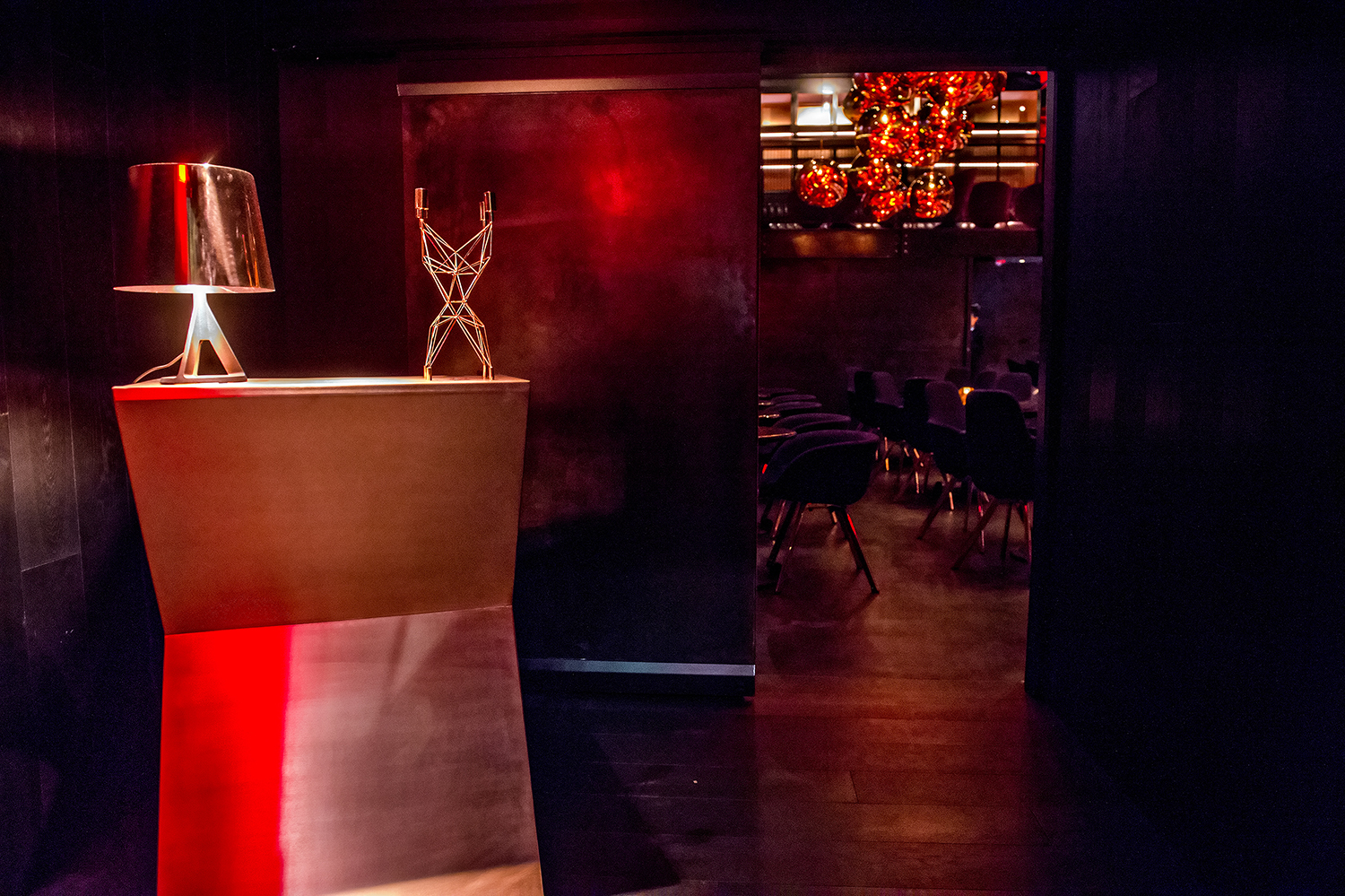 Look Inside Himitsu The Stunning New Lounge From The Umi Sushi Team