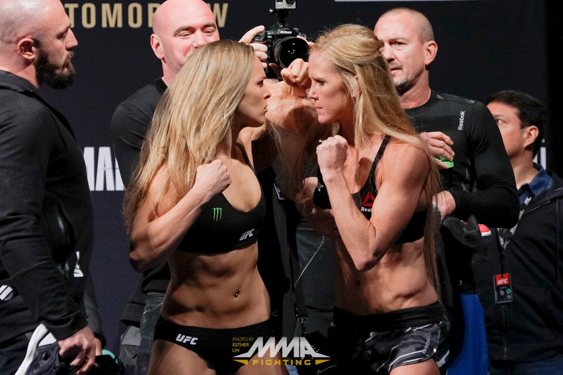 UFC 193 fight card: List of tonight's fighters for Rousey vs. Holm