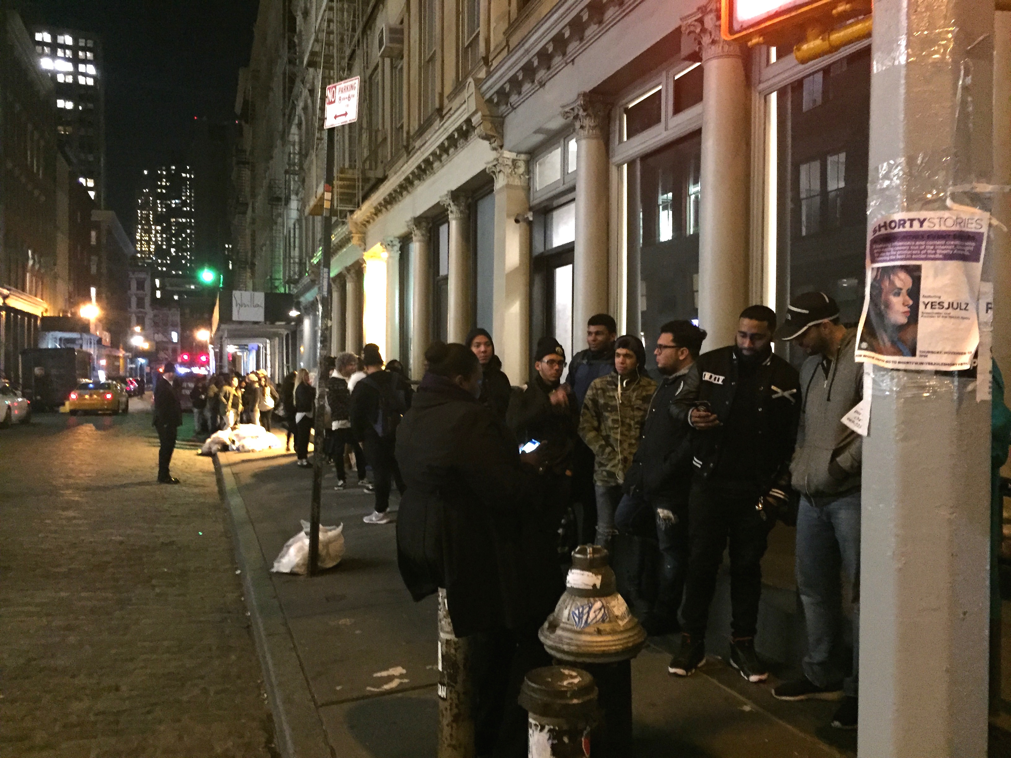 Alexander Wang and The Weeknd Left Fans Disappointed at the Soho Store Last Night