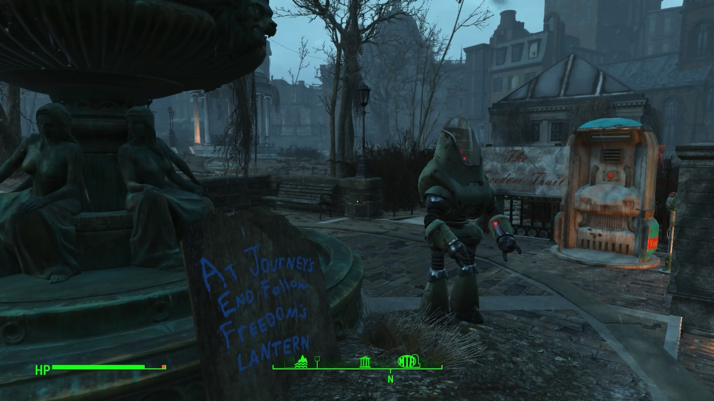 Fallout 4 road to freedom walkthrough polygon for Fallout 4 decorations