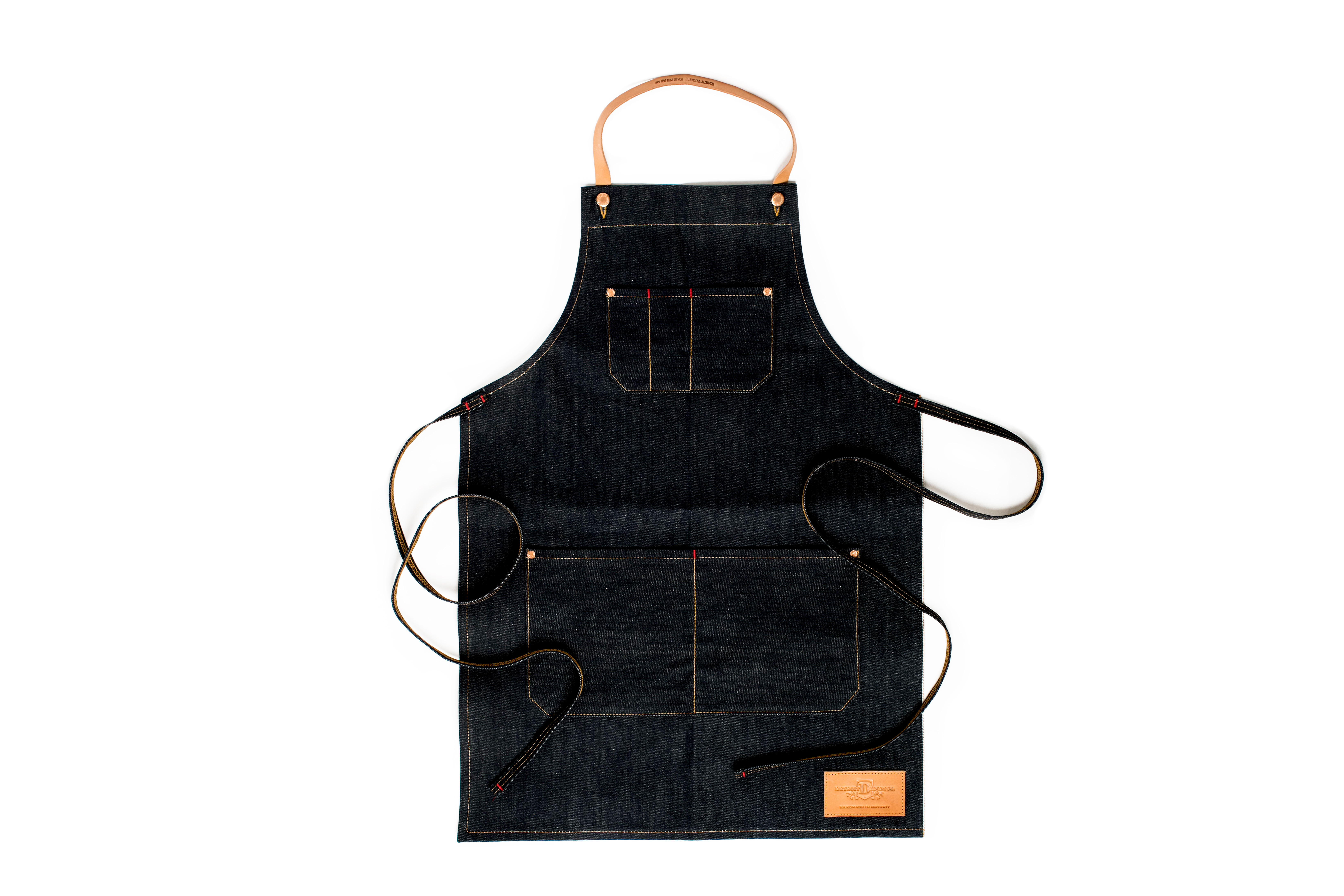 White apron meat co - At Townhouse And Beyond Downtown Waitstaff Are Sporting Some Sharp Looking Aprons These Days Thanks To Detroit Denim Co Each Apron Is Meticulously Made