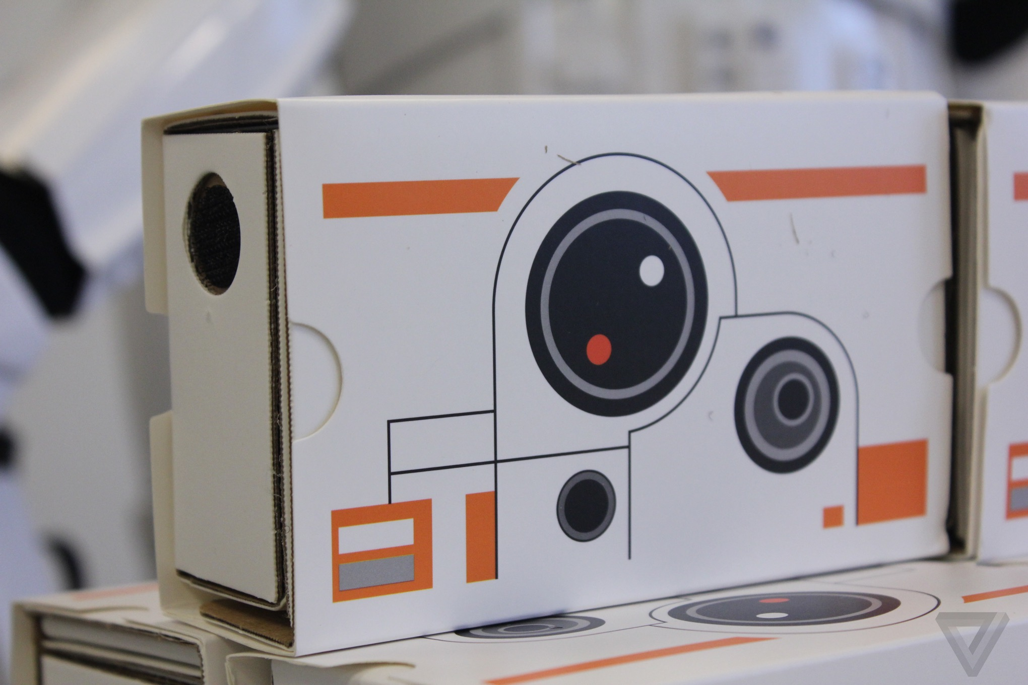 64c287a2ba9 Star Wars Google Cardboard headsets are adorable