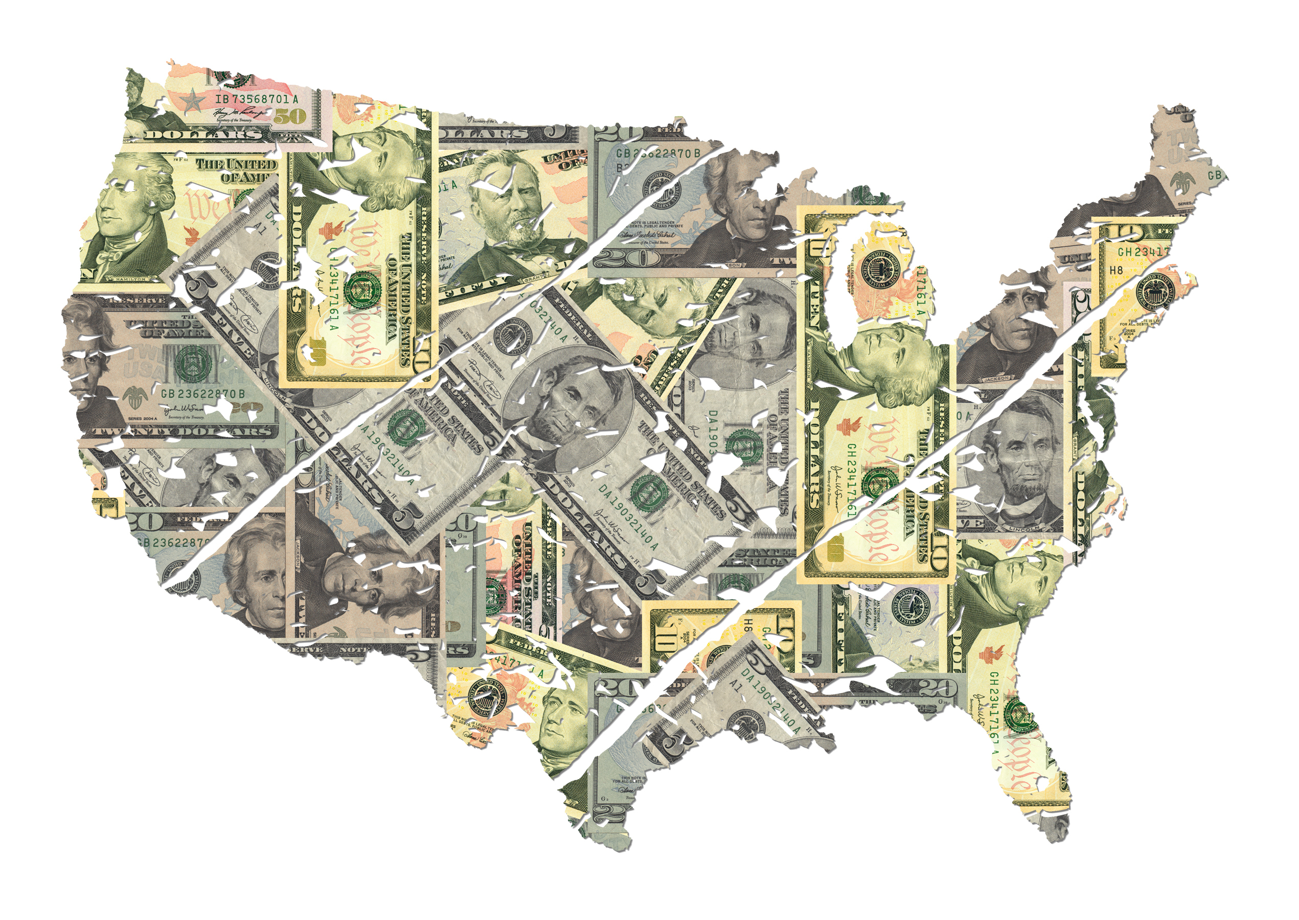 Your Interactive Guide To Understanding The Minimum Wage Eater - Living wages in the us map