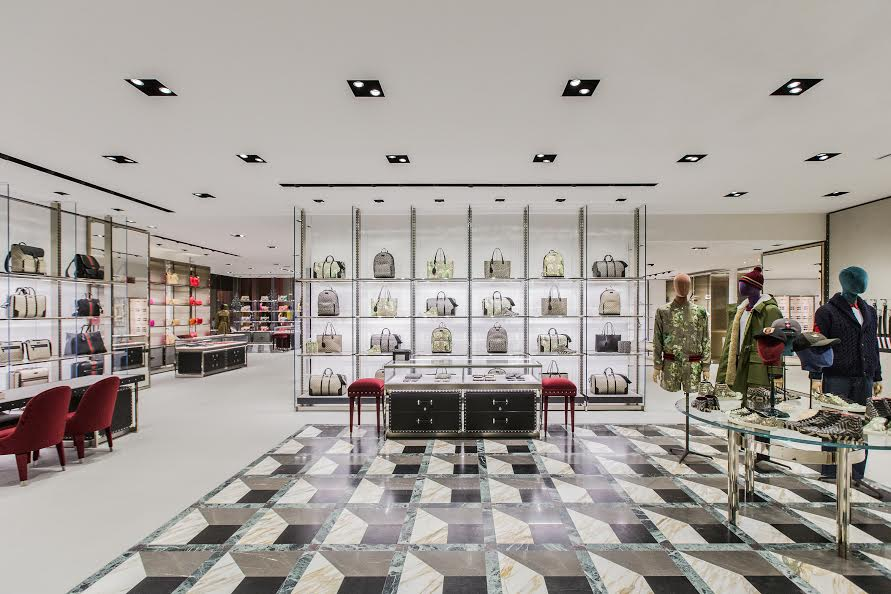 inside brookfield places newest luxury stores gucci and