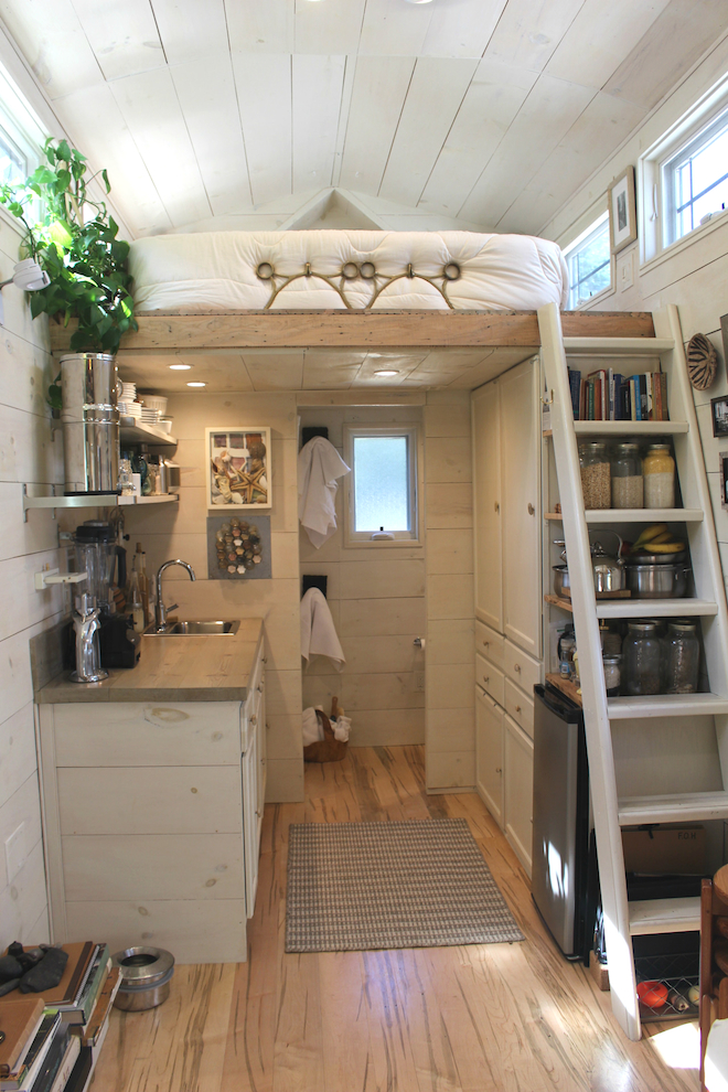 impressive tiny house built for under 30k fits family of 3 - Tiny House Ideas