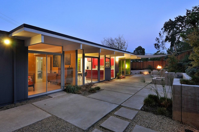 Superb midcentury eichler a house of many colors asks for Eichler homes for sale bay area