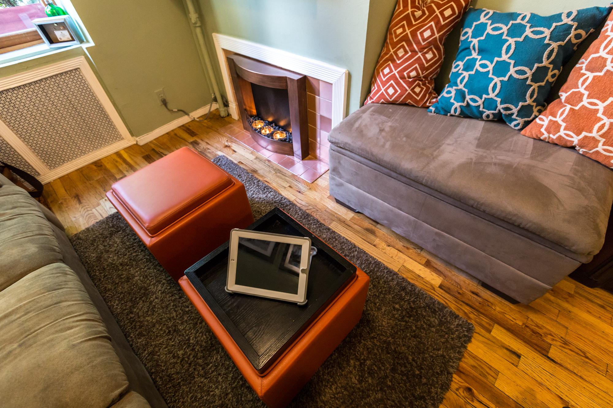 Studio Apartment Hoboken in a tiny gramercy duplex, carpentry skills pay off - curbed ny