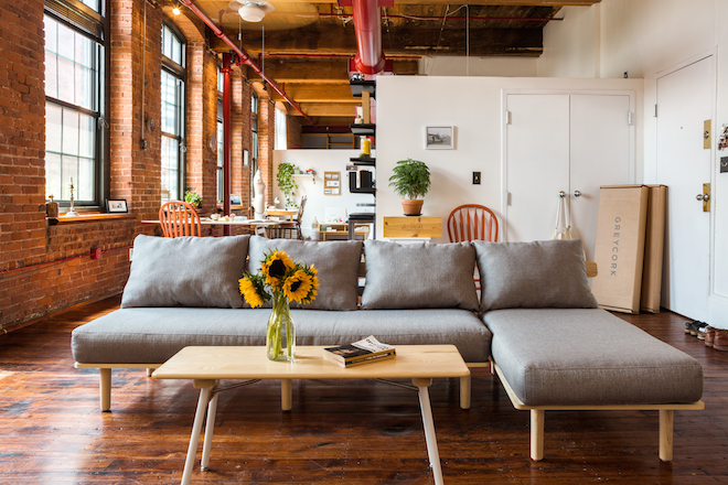 The Greycork Sofa And Chaise, Plus Coffee Table From The Limited Edition  Brooks Collection